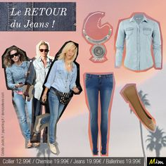 Osez le total look Jeans !blog Mim