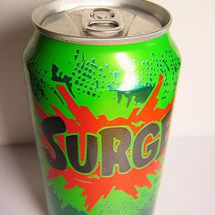 A can of Surge: | 32 Of Your Childhood Toys That Are Worth An Absolute Fortune Now. Can't believe it!