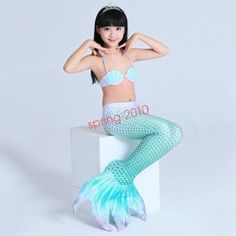 Mother & Kids Little Children Mermaid Tails For Swimming Suit Girls Bikini Swimsuit Costume Kids Mermaid Princess Dress Cosplay Can Add Fin Skilful Manufacture