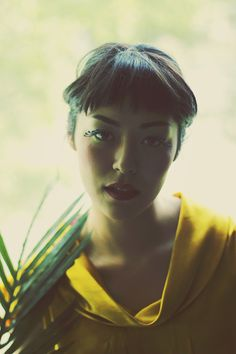 Fern #portrait #photography #yellow #bangs