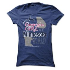 Just a Georgia Girl in a Minnesota World