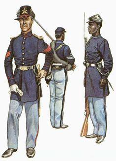 US Infantry uniforms.