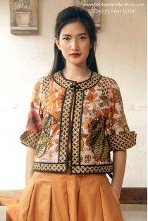batik amarillis's birdy jacket