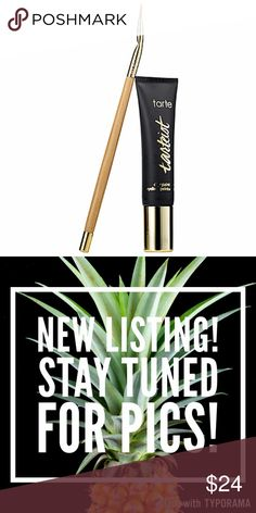 tarte Tarteist™ Clay Paint Liner 🎀BRAND NEW IN BOX! 🎀 NEVER USED OR SWATCHED!  100% AUTHENTIC!  🙌🏼FULL SIZE!  🙌🏼   SIZE 0.21 oz/ 6 g COLOR Black  🚛🏗NEW LISTING, UNDER CONSTRUCTION!🏗🚛  ⏳PICS COMING SOON! ⏳   ⬇️I will price drop when this item has been updated with my own pictures and pricing!⬇️  ❤️Like this listing to be notified when this item become available 📳  💬Comment below ⤵️ to reserve this item! Go ahead and make me an offer!🎉 tarte Makeup Eyeliner