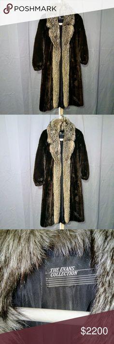 Fur Coat It is a Christian Dior mink coat with a fox fur collar.  Real fine and elegant. Christian Dior Jackets & Coats Trench Coats