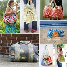 Round Up: 7 Big Bags toSew - A Sewing Journal - A Sewing Journal