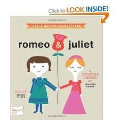 Romeo & Juliet: A BabyLit Board Book
