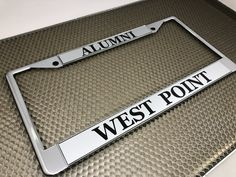 8 Best Custom Standard Chrome Metal 2-hole License Plate