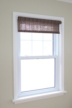 Window Moldings Interior | We Painted Out All Of The Window Trim In Simply  White.