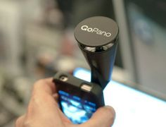 GoPano--a lens that attaches to iPhone 4 & 4s to give 360-degree videos!  This would be great on vacations.  I could even see realtors using this, or homeowners for recording belongings for insurance purposes.