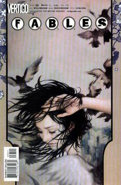 The cover to Fables #33 (2005), art by James Jean