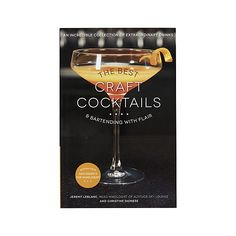"""""""The Best Craft Cocktails"""" I Crate and Barrel #setthetable"""