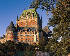 Hotel Fairmont Château Frontenac Canada
