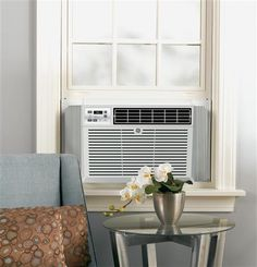 An in-window GE Electronic Room Air Conditioner does wonders for cooling a single room, or as a part of a larger system of air conditioners throughout your home.