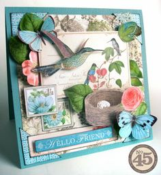 Botanical Tea card - Nichola Battilana