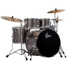 Gretsch Drums Energy 5-Piece Drum Set with Hardware and Sabian SBR Cymbals Grey Steel (Grey Steel) by Gretsch Drums. $697.00. A full, quality setup producing a straight-forward attack at an epic value.