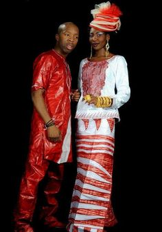 Custom African clothing for couple by NewAfricanDesigns on Etsy