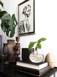 Shop the look: karakteristiek huis – Alles om van je huis je Thuis te maken Home Decor Styles, Home Decor Accessories, Decorative Accessories, African Home Decor, Scandinavian Home, Interior Styling, Interior And Exterior, Modern Interior, Home And Family