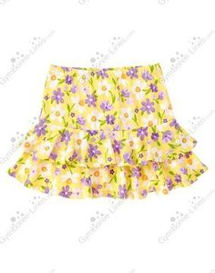 NWT Gymboree Daffodil Garden Daffodil Violet Tiered Skort - Size 10 - 1 available - $14 shipped