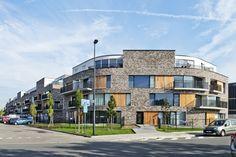 apartments WATERKLUISKAAI   sint - amandsberg - Projects - CAAN Architecten / Gent