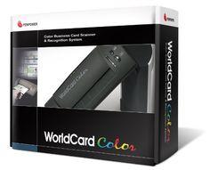 Penpower WorldCardColor Color Business Card Scanner: http://www.amazon.com/Penpower-WorldCardColor-Color-Business-Scanner/dp/B0001R05T8/?tag=cheap136203-20