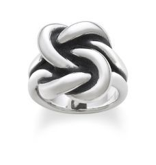 Bold Lovers' Knot Ring at James Avery