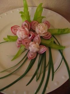 Vegetable Carving   Flickr - Photo Sharing! by lottie