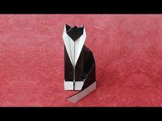 Just a cat at Www.Origami-Fun.Com - http://www.ikuzoorigami.com/just-a-cat-at-www-origami-fun-com/