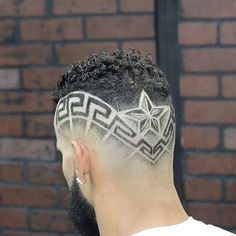 Men's Hair, Haircuts, Fade Haircuts, short, medium, long, buzzed, side part, long top, short sides, hair style, hairstyle, haircut, hair color, slick back, men's hair trends, disconnected, undercut, pompadour, quaff, shaved, hard part, high and tight, Mohawk, trends, nape shaved, hair art, comb over, faux hawk, high fade, retro, vintage, skull fade, spiky, slick, crew cut, zero fade, pomp, ivy league, bald fade, razor, spike, barber, bowl cut, 2018, hair trend 2019, men, women, girl, boy