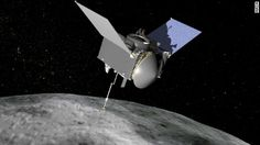 NASA is launching a space probe called OSIRIS-REx to chase down a dark…