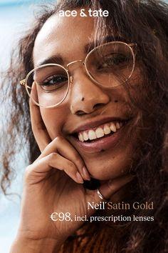 30ecec2d91 Neil Satin Gold. Ace   Tate