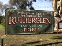 Taken at Rutherglen, Victoria