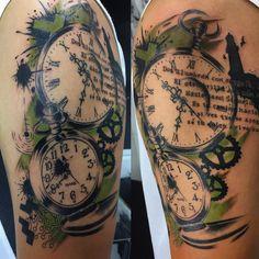 "53 Me gusta, 2 comentarios - Ivan (@ivanovidix_tattoo) en Instagram: ""#touchups #artist #art #artwork #blacktattoo #armtattoo #sleevetattoo #hearttattoo #ink #inked…"""