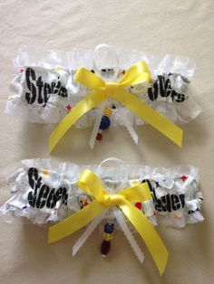 "Pittsburgh ""Steelers"" Garters by SportzNutty on Etsy"