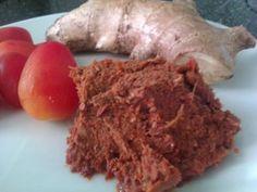 Thai Red Curry Paste - recipe