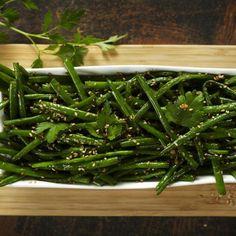 Salade d'haricots verts au sésame de l'Institut Paul Bocuse