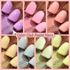 Color Club Pastel Neon Collection | Polish Obsession