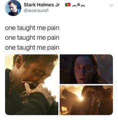 The whole MCU taught me pain. As well as love and hope. But mostly pain. Disney Marvel, Marvel Heroes, Marvel Avengers, Marvel Comics, Marvel Gems, Funny Marvel Memes, Marvel Jokes, Avengers Imagines, Avengers Cast