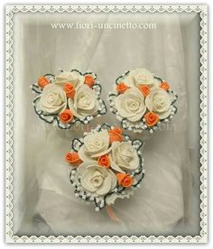 Bouquet per damigelle al'uncinetto