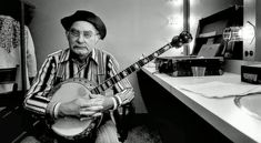 """In MEMORY of GRANDPA JONES on his BIRTHDAY - Born Louis Marshall Jones, known professionally as Grandpa Jones, American banjo player and """"old time"""" country and gospel music singer. He is a member of the Country Music Hall of Fame. Oct 20, 1913 - Feb 19, 1998 (following multiple strokes)"""