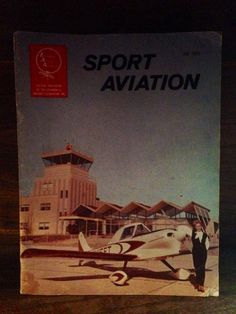 Field's of Gold, LLC is offer for sale this Rare Vintage July 1965 Sport Aviation Magazine  Just go to Etsy.com and type in the search field:  FieldsofGoldenDreams