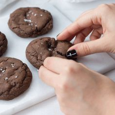 Nutella and Salted Caramel Double Stuffed Chocolate Chip Cookies
