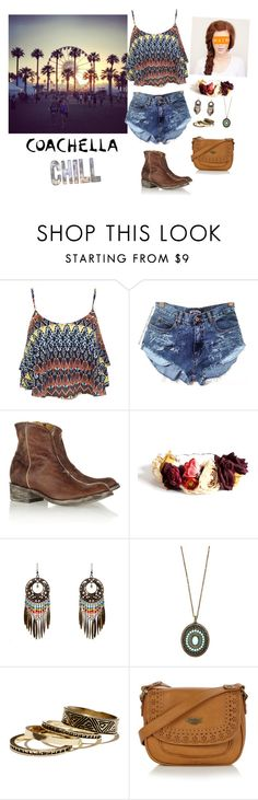 """""""Coachella"""" by aileen2704 ❤ liked on Polyvore featuring Alba Botanica, Miss Selfridge, Mexicana, Paul Mitchell, eliurpi, Tulle Clothing, Warehouse and Mantaray"""