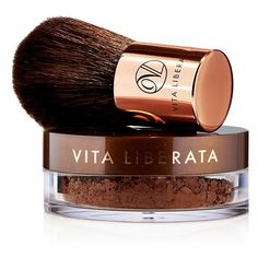 Women's Vita Liberata 'Trystal Minerals - Bronze' Self Tanning... (73 CAD) ❤ liked on Polyvore featuring beauty products, makeup, cheek makeup, cheek bronzer, beauty, cosmetics, filler, no color and vita liberata