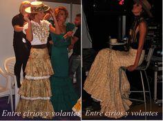 #Rocío2015: De camino · Moda Flamenca por Claudia Alfaro vía Entre Cirios y Volantes.