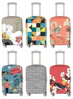 Luggage covers LOQI