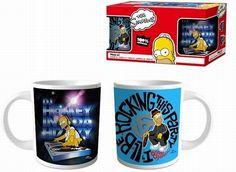 BRUMLA.CZ – Značkový dětský a dospělý second hand a outlet, použité oděvy pro děti a dospělé - Nové - 2x Bílý keramický hrnek s Homerem