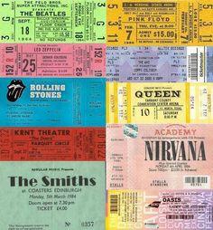 Nirvana Oasis Led Zeppelin The Smiths Pink Floyd The Doors Beatles Rolling Stones Queen...