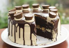 Chocolate Peanut Butter Cup Cake recipe