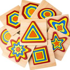 DIY Creative Wooden Puzzle Geometric Shape Jigsaw Intelligence Develop Montessori Educational Toys For Children Kids Baby-in Puzzles from Toys & Hobbies on AliExpress Baby Development In Womb, Wooden Puzzles, Educational Toys, Geometric Shapes, Montessori, Kids Toys, Baby Kids, Children, Creative